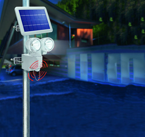 Solar LED-Wandstrahler «DUO Power»